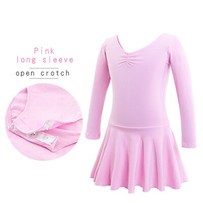 Pink, Long Sleeved, Open Crotch