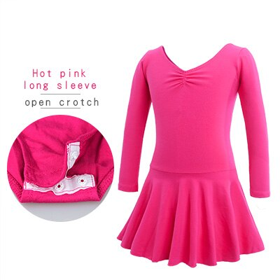 Hot Pink, Long Sleeved, Open Crotch