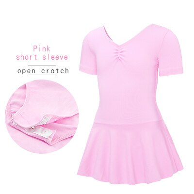 Pink, Short Sleeved, Open Crotch