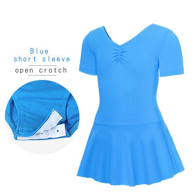 Blue, Short Sleeved